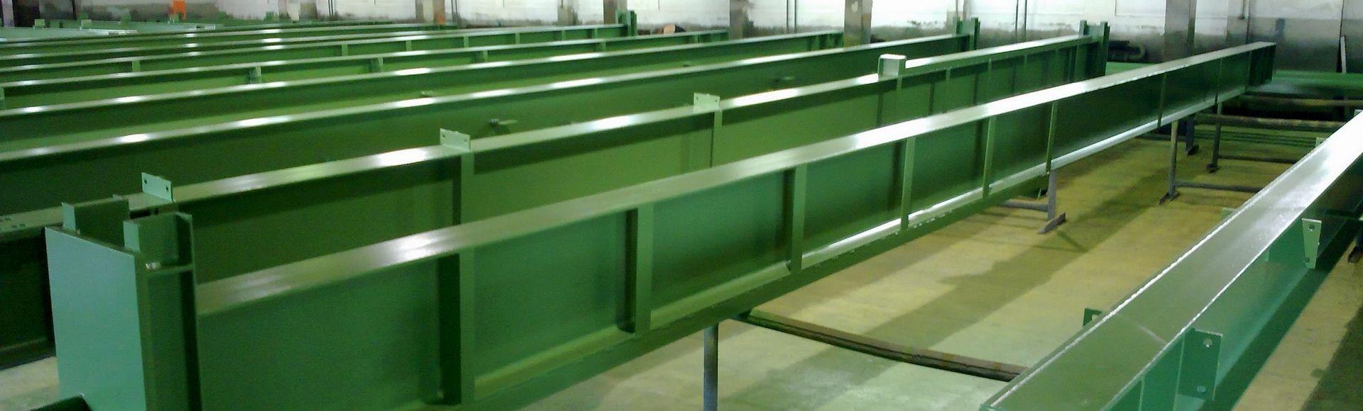 Oberflächenvorbereitung und Beschichtung